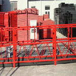 50 / 60 hz three / single phase rope suspended platform length 7.5 meters