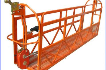 6m 1.5kw 630kg painted scaffold working platforms aluminum with steel wire 8.3mm