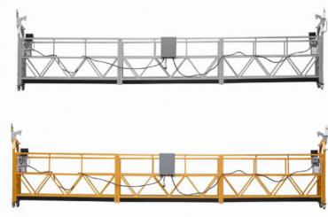 208 v / 60hz three phase 100m , 150m , 200m , etc aluminum alloy zlp630 suspended cradle