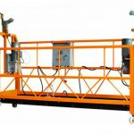 ce certificated aluminum suspended working platform zlp1000 motor power 2.2kw