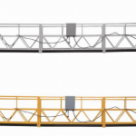 3 phase rope suspended platform hot galvanized 7.5m zlp800a for wall painting