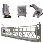 zlp800 2.5 m * 3 sections suspended access equipment with iron counter weight