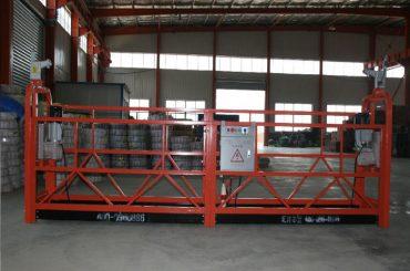 zlp1000 8 – 10 m / min safe suspended woking platform for building construction and maintenance