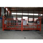 aluminium alloy / steel / hot galvanized suspended access equipment zlp630