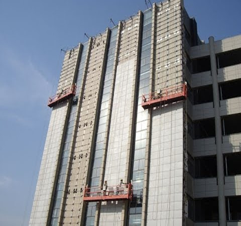 High-rise-cleaning-equipment-wall-plastering-machine