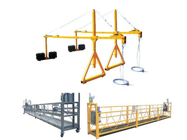 Hot sale Haoke Suspended Steel pained access platform ZLP630, ZLP800, ZLP1000