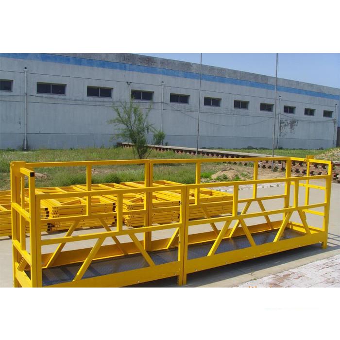 ZLP 800 High Rise Building Window Cleaning Platform 300M 2.5M*3 1.8KW 800KG