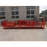 high – rise building strong suspended working platforms zlp500 2m*2 1.5kw 6.3kn