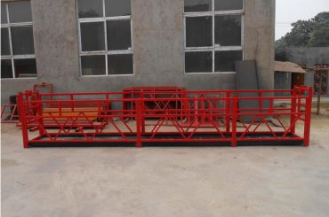 Manual-electric-hoisting-basket-for-construction-projects