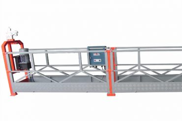 pin – type 800kg suspended work platform with 1.8kw motor power