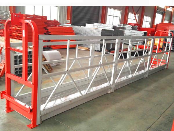 Window Cleaning Rope Suspended Platform ZLP630 With Hoist LTD6.3 Motor Power 1.5kw