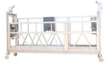 380v / 220v / 415v high efficiency window cleaning platform zlp800 single phase