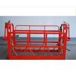 800kg painted / aluminum suspended access platforms motor power 1.8kw scaffold platform