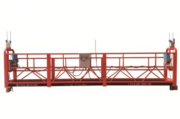 customized gondola cradle suspended access equipment 30kn safety lock