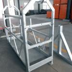 high safety rope suspended platform elevators installation platform zlp630 zlp800 zlp1000