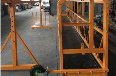 window cleaning suspended working platform safety zlp 630 with hoist ltd6.3