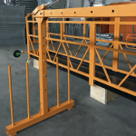 single phase suspended wire rope platform 800 kg 1.8 kw , lifting speed 8 -10 m/min