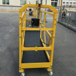 7.5m temporarily suspended wire rope platform for construction