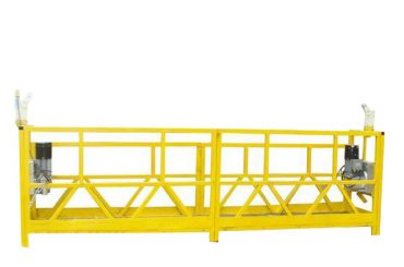zlp 630 temporarily installed suspended working platform with rated capacity 630kg