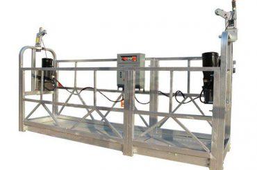 aluminium alloy suspended working platform / gondola / scaffolding zlp 630