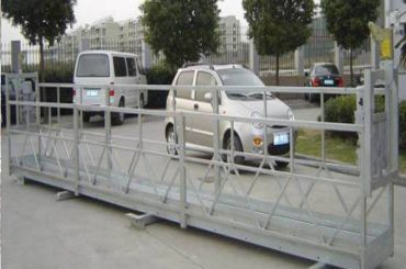 2.5m x 3 sections scaffold working platforms 800kg aluminum with safety lock 30kn