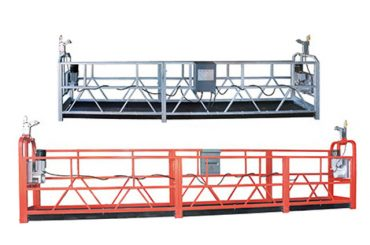 10m steel / aluminum suspended access equipment zlp1000 for 3 person working