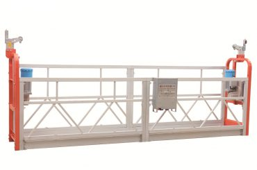 zlp630 painted steel facade cleaning suspended working platform