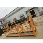 zlp series steel or alumium suspended rope platform