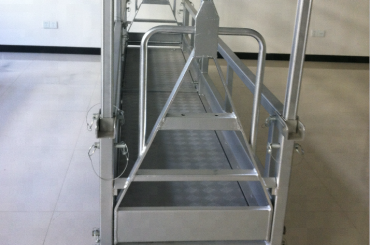 suspended steel work platform/suspended steel platform