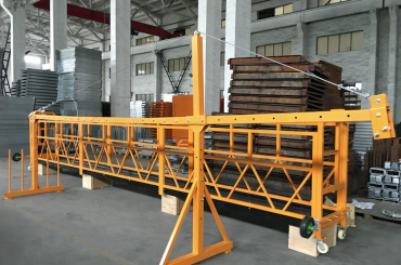 zlp 500 lp 630 temporarily suspended wire rope platform for building