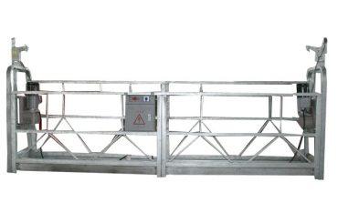 aluminium alloy / steel / hot galvanized suspended access equipment zlp1000